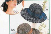 Horgolt kalap