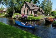 GIETHOORN, NETHERLANDS: The magic village / Photos of the amazing little village of Giethoorn in Northern Netherlands