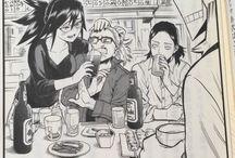 Boku no hero Naruto e varios animes e ships yaoi e yuri
