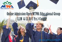 MTWA Educational Group College / St. Mother Teresa Law Degree College aims to teach the new emerging areas in law as Intellectual property, Cyber Crime, Immigration Law and Family Laws by redefining the boundaries of legal education.The development in the business, legal fields, call for professionals with a blend of legal background. In this context St. Mother Teresa Law Degree College at present offers a three year full time LL.B. programme.