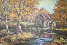 Scenery Oil Painting