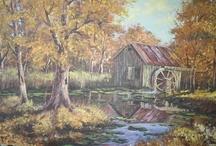 Scenery Oil Painting / by Deborah Goulekas