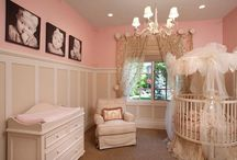 Baby girls nursery / by Monica Navarrette Gutierrez