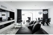 Lounge- black & white