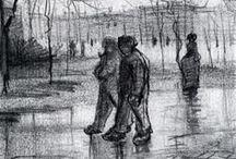 Van Gogh e o que mais me impressiona na sua obra... / A diversidade...e a independência...