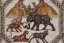 Mosaic in ancient Palestine