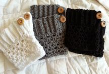 Bootcuffs crochet