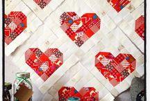 Quilting Blocks - Hearts