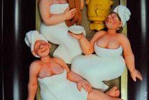 Панно на тему сауна и баня