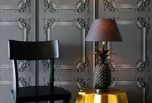 Gold Home Decor / Interiors, Styling And Home Decor for Gold, Gold, Gold.