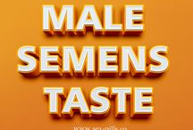 Male Semens Taste / Check this link right here http://www.facebook.com/Yummy-Cummy-493482854188864 for more information on Male Semens Taste. Consuming too much dairy products such as cheese, milk and sweets made from milk; eating unwanted of red meats, asparagus, cabbage, broccoli, cauliflower could make your semen to taste salty. Pineapple Pills To Taste Better ought to be strictly stayed clear of for better taste of your sperm. Some foods that is considered making your seminal fluid taste bad.