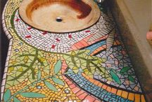 Mosaics / Beautyful mosaics in Manu different materiale and stuffs