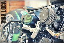 "Softail Harley ""El Nino"" Designed by Vida Loca Choppers / Softail Harley El Nino Designed by Vida Loca Choppers in 2012"