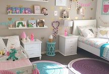 Girls bedroom ideas / Different girls bedroom decor ideas from baby to teen