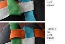 handmade harness (dog)