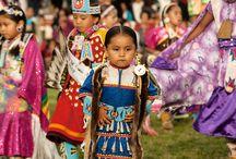 native american children