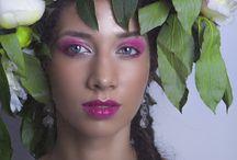 """Makijaż kreatywny """"Słowianki""""-Małgorzata Dunder"""