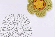 uncinetto fiori / uncinetto fiori crochet flowers