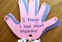 Mothers or Father's Day crafts