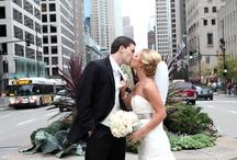 Michigan Ave Chicago Wedding Pictures / #MichiganAveWeddingPictures #ChicagoWedding