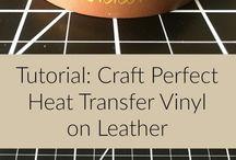 Crafts:  HTV and Vinyl