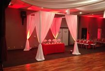 Cabanas / Pipe and drape cabanas!!!  You can create anything you are infinite!!!  714 805 4261 sales@orangecountylinens.com