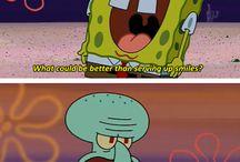 SpongeBob SquarePants / *insert weird laugh here*