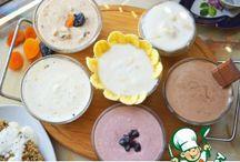 Здоровая и полезная еда...йогурт, творожок...