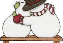 snowman block