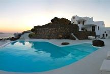 Santorini Wedding Reception @ Aenaon Villas