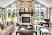 Fire place/living room