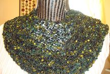 Handknit  Scarf as a gift / Fashion Handknitted Scarves / by designbyelena