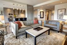 The Prosecco / A 2110 square foot, 3 Bdr contemporary suite in Downtown Calgary