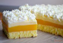 Orangendessertkuchen
