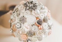 Alternative Wedding Bouquets by I Heart Buttons / 0