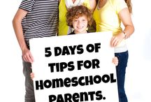 5 Days of Tips for Homeschool Parents. / The 2016 Schoolhouse Review Crew will be encouraging homeschooling parents with a blog hop during the week of 28 March - 1 April 2016.