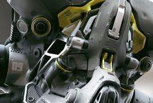 Cyber / Virtual helmet