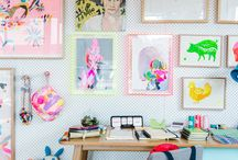 home decor: work room