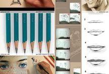 Art -Drawing / Sketching / Painting / by Cheryl Johnson