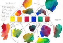Caja 6 colores acuarela