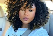 Crochet braids hairstyle