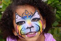 Whitney Myers face painting workshop Australia 2014