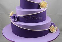 virágos  lányos  torta