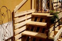 raklap lépcső
