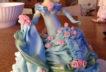 Dama azzurra / Porcelana fria