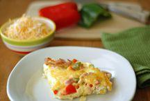 Omelette Casserole in Crock Pot / Breakfast