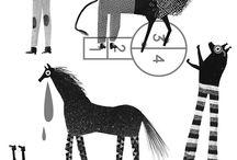 ilustracje / by marta kostrzewa