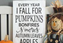 Fall / Fall, decor, recipes, Halloween 2016