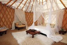 yurts, cob and outdoor living