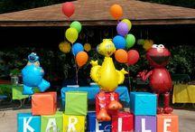 Elmo birthday / by Susan Gillespie